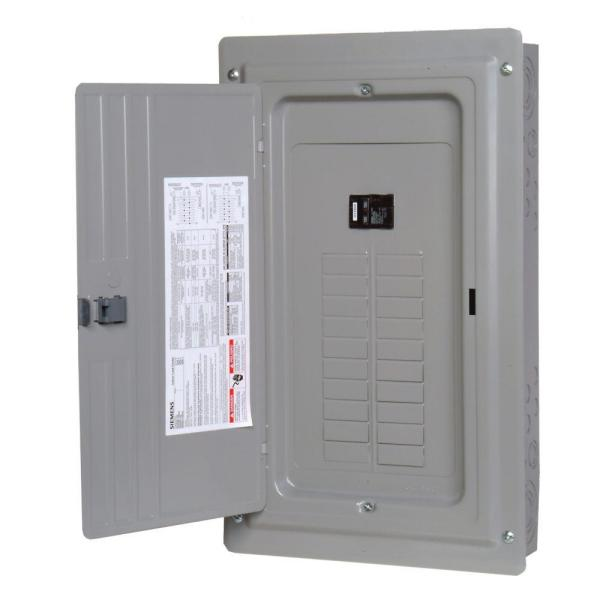 ES Series 100 Amp 20-Space 24-Circuit Main Breaker Indoor Load Center