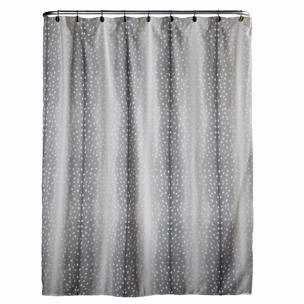 Antelope 72 In Neutral Shower Curtain