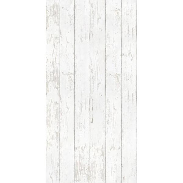 CGSignLab White Wood by Raygun Removable Wallpaper Panel
