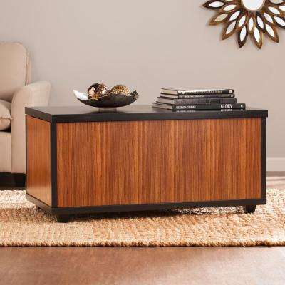 Marienne zebrawood Trunk Cocktail Table