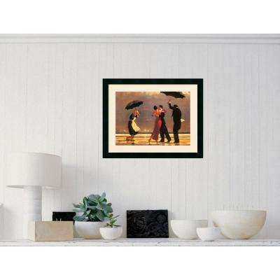 "24 in. H x 19 in. W ""The Singing Butler"" by Jack Vettriano Framed Art Print"