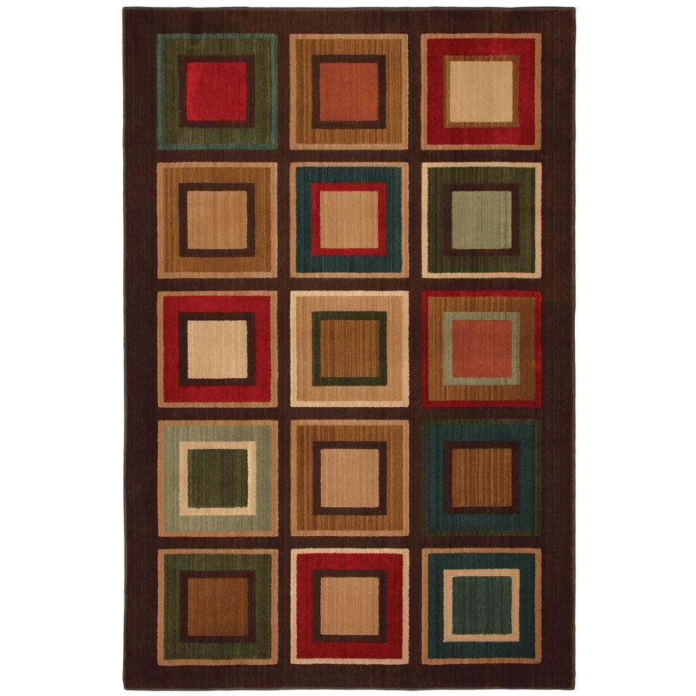 Mohawk Home Select Kensington City Center 5 ft. 3 in. x 7 ft. 10 in. Area Rug