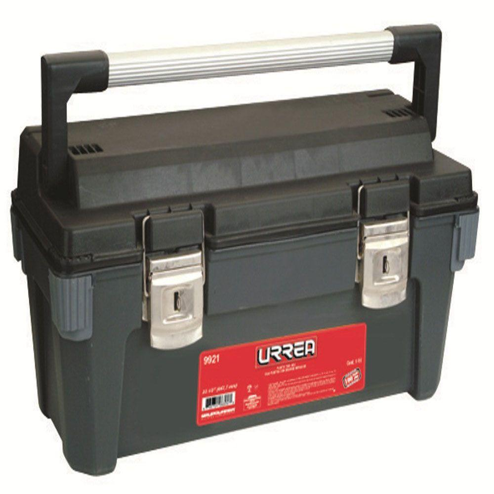 URREA 25 in. Plastic Box with Metal Clasps and Removable Tray