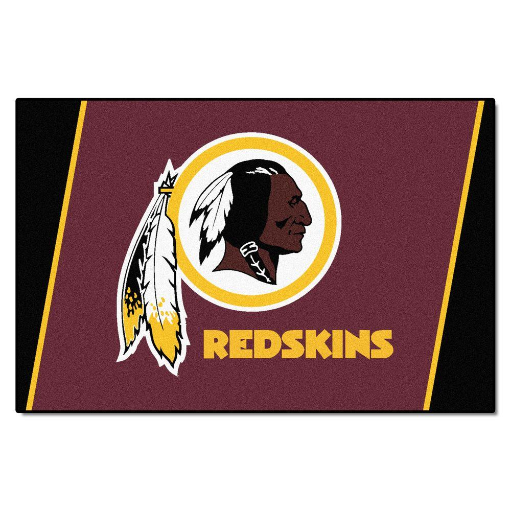 Fanmats Washington Redskins 5 Ft X 8 Ft Area Rug 6614