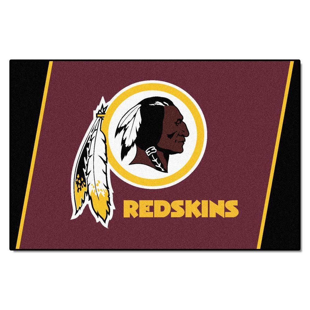 Fanmats Washington Redskins 5 Ft X 8 Ft Area Rug 6614
