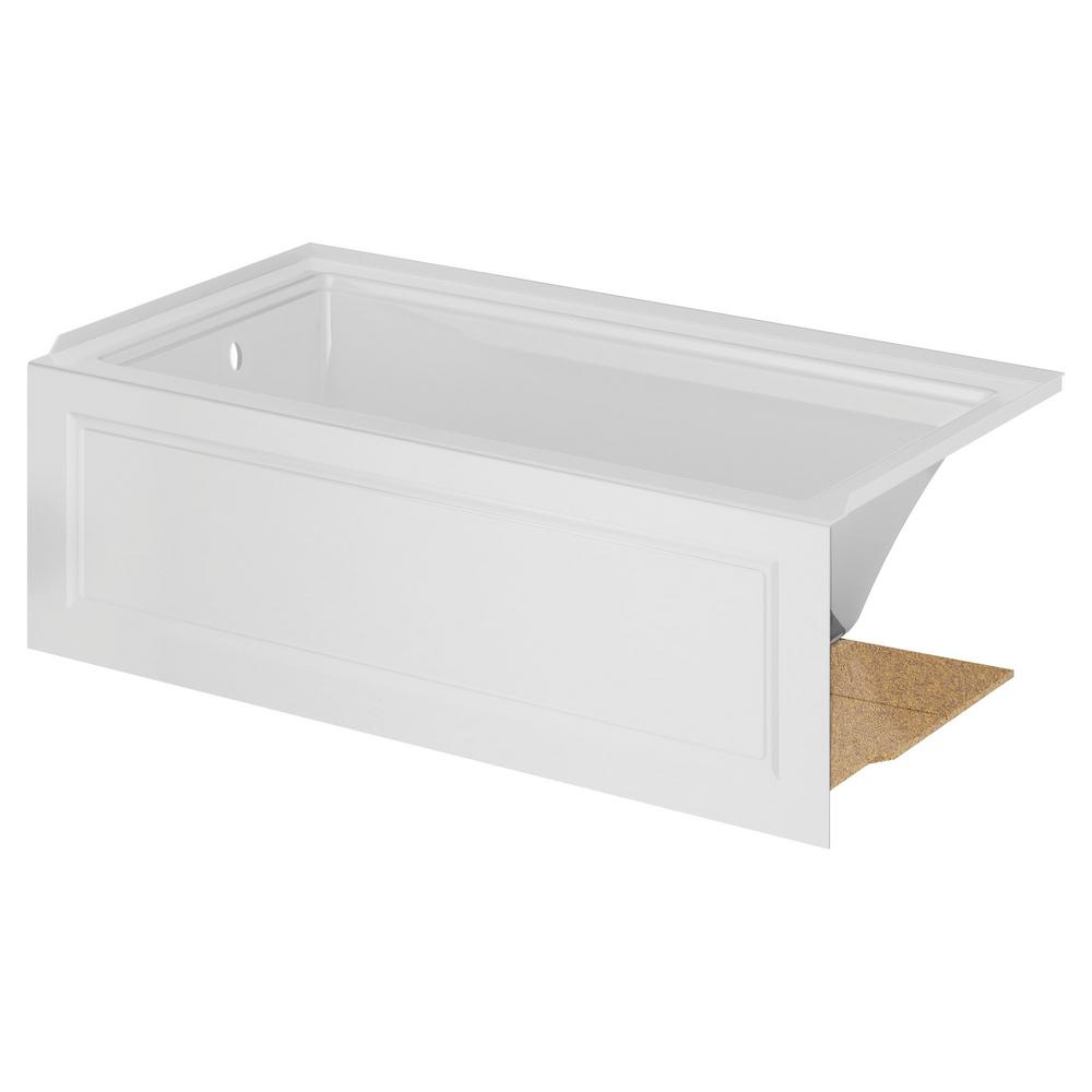 American Standard Town Square S 60 In Acrylic Left Drain