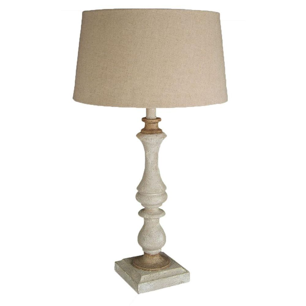 Filament Design Xavier 28.5 in. Beige Table Lamp