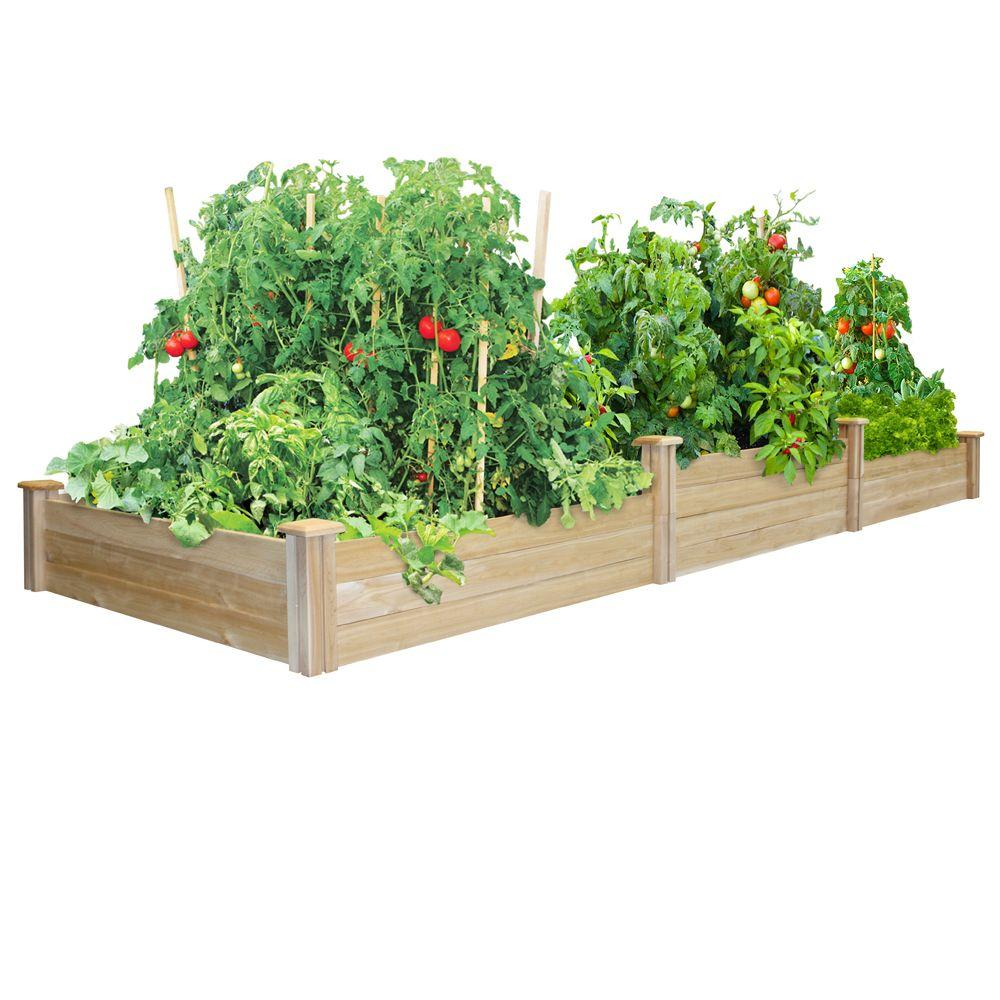 Greenes Fence Tall Tiers Dovetail Raised Garden Bed
