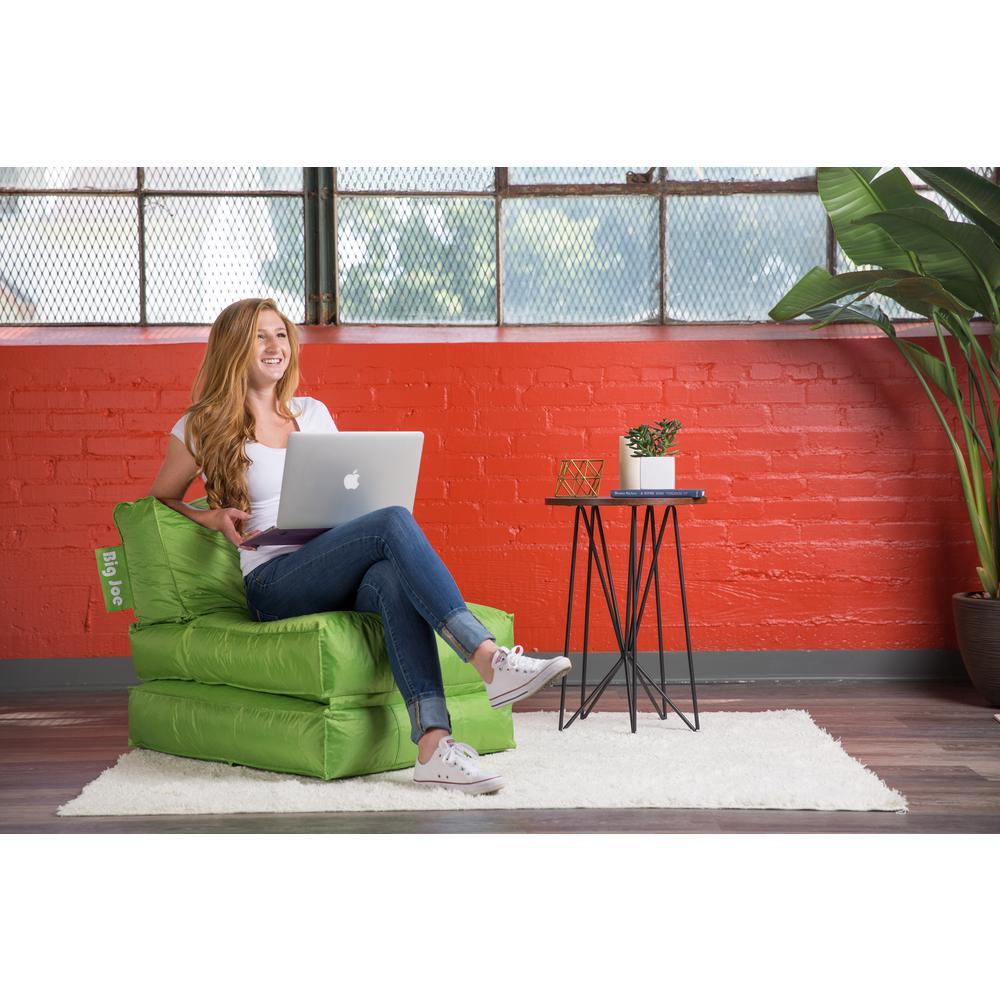 Terrific Big Joe Flip Lounger Spicy Lime Smartmax Bean Bag 0634185 Andrewgaddart Wooden Chair Designs For Living Room Andrewgaddartcom