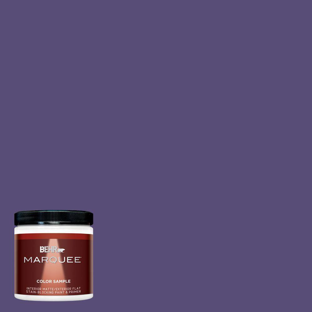 Purple Interior Paint: BEHR MARQUEE 8 Oz. #MQ5-42 Perpetual Purple Interior