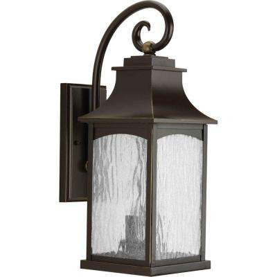 Maison Collection 2-Light Oil Rubbed Bronze Outdoor Wall Mount Lantern