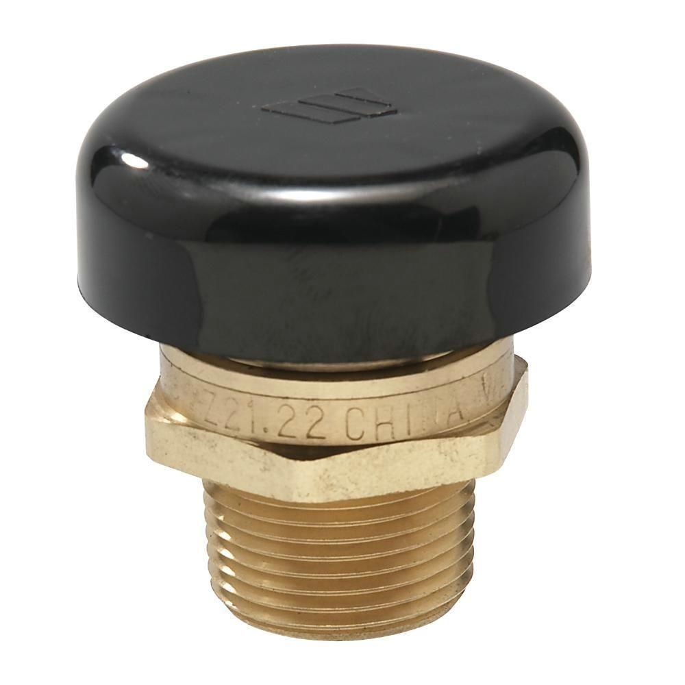 Watts 1 2 In Brass Mpt Vacuum Relief Valve 1 2 Lfn36m1