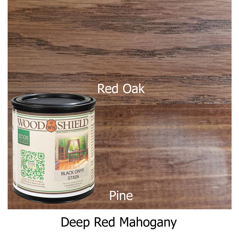 1-qt. Deep Red Mahogany WoodShield Interior Stain