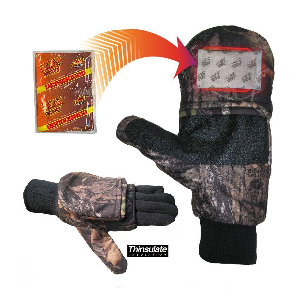Heat Factory Pop Top Mitt-Mossy Oak Extra Large, Size: XL...