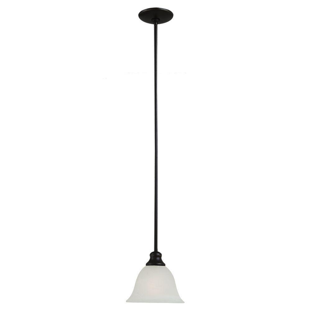 Windgate 1-Light Heirloom Bronze Mini Pendant