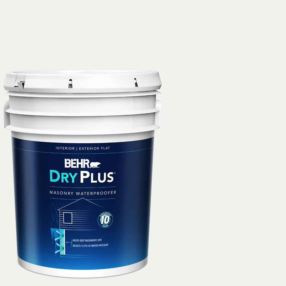 BEHR Premium 5 gal. White Dry Plus Masonry Waterproofer