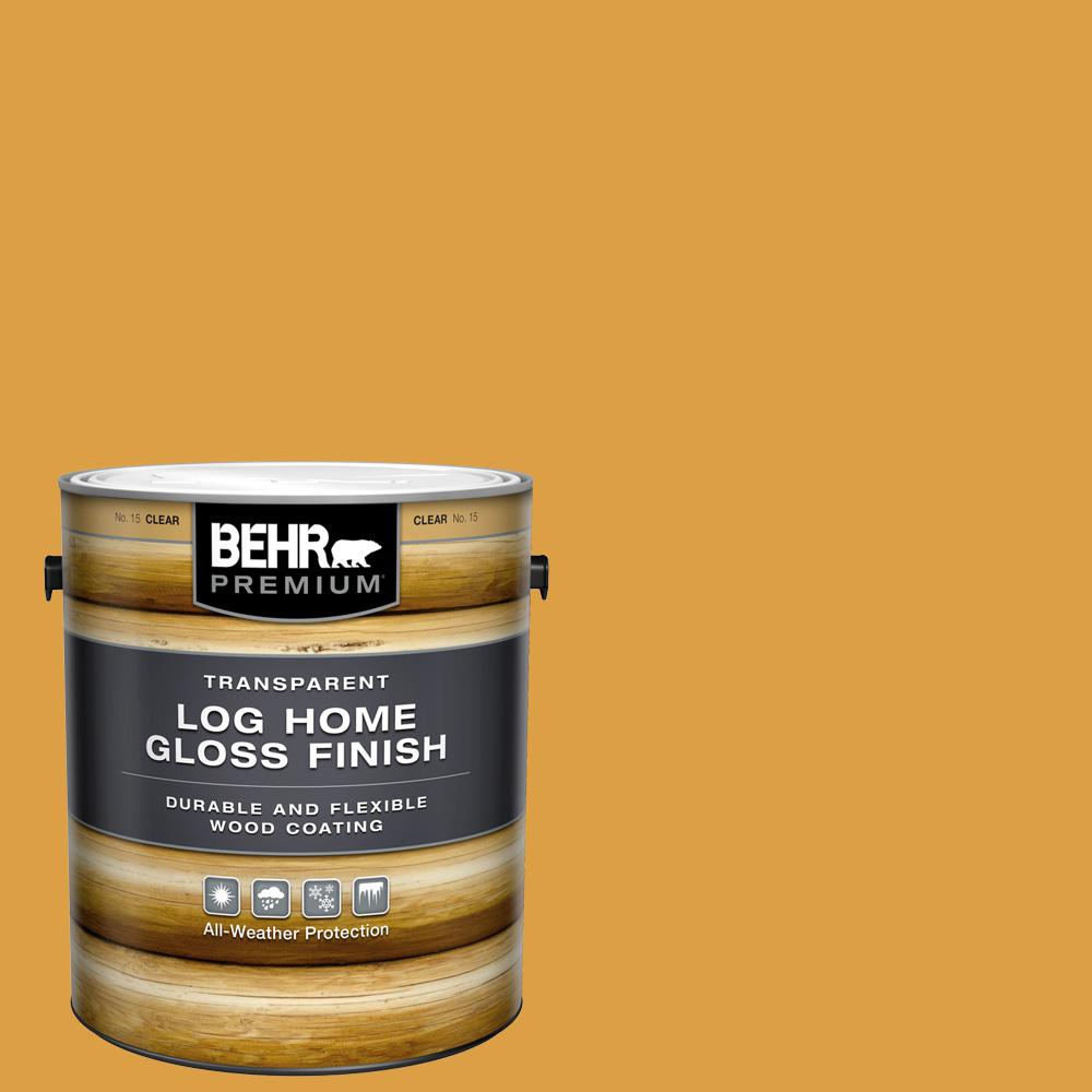 BEHR Premium 1 gal. Clear Gloss Finish Log Home