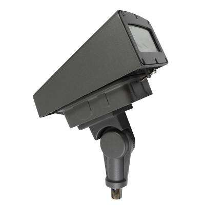 40-Watt Bronze Integrated LED Outdoor Adjustable Flood Light