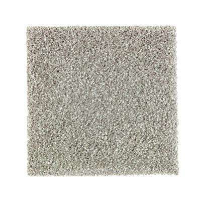 Carpet Sample - Whirlwind II - Color Meandering Texture 8 in. x 8 in.