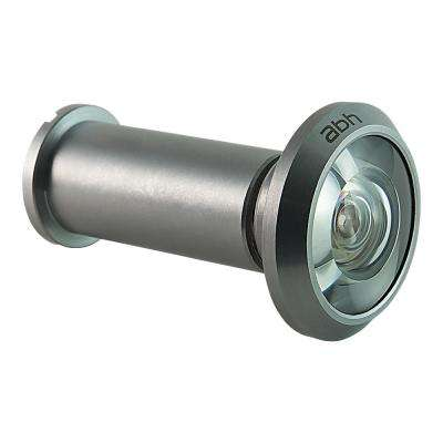 200-Degree Satin Chrome Door Viewer with Mixed Lenses