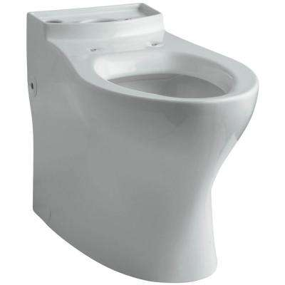 Persuade Comfort Height Elongated Toilet Bowl Only in Ice Grey