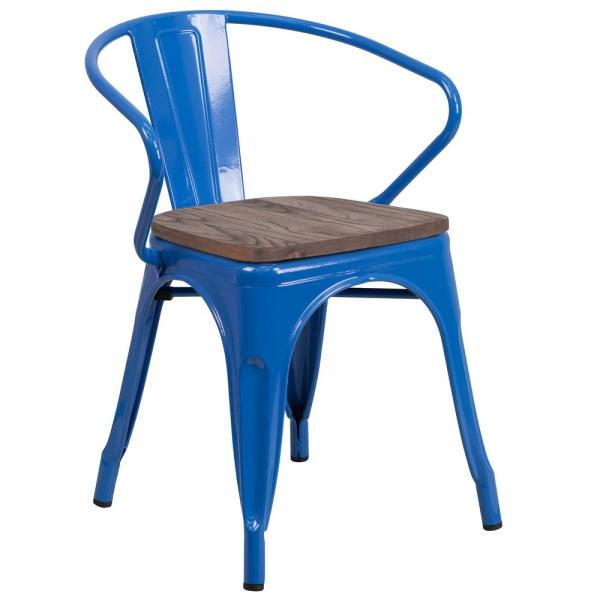 Carnegy Avenue Blue Side Chair CGA-CH-249930-BL-HD