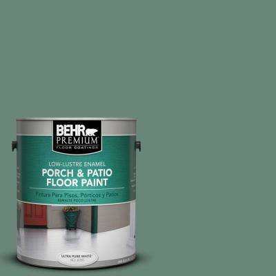 1 gal. #S420-5 Sycamore Grove Low-Lustre Porch and Patio Floor Paint