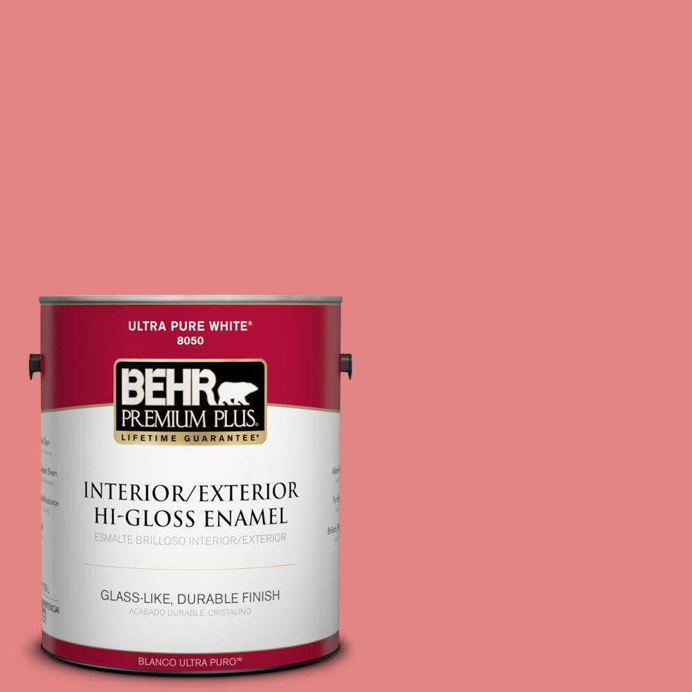 1-gal. #160B-5 Candy Mix Hi-Gloss Enamel Interior/Exterior Paint