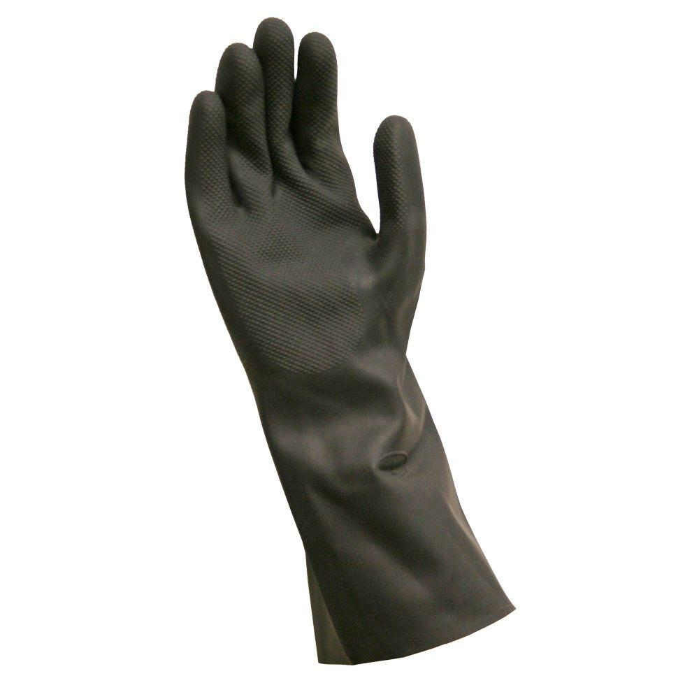 Chemical Gloves PR 14 in L XL Blk