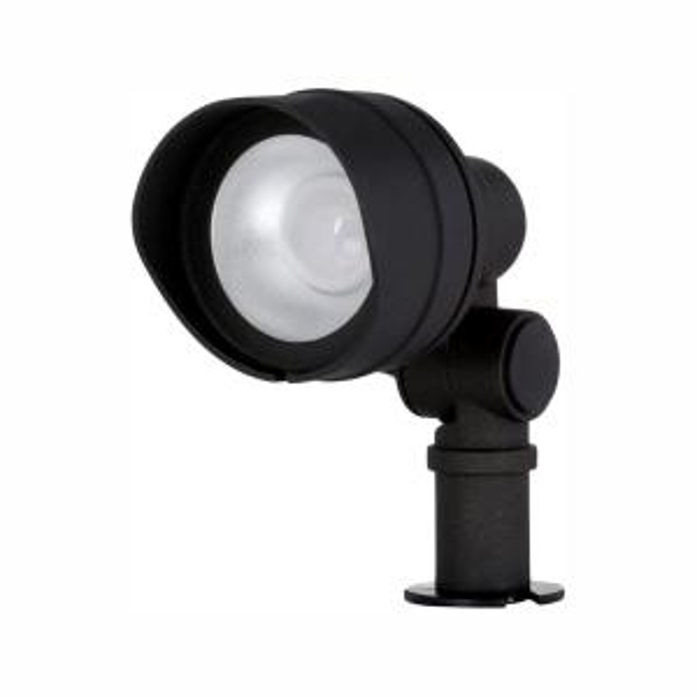 Hampton Bay Low-Voltage 20-Watt Equivalent Black Outdoor Integrated LED  Landscape Flood Light-IWH1501LS-2 - The Home Depot