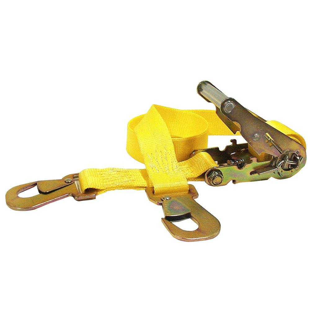 Keeper 2 in. x 7 ft. x 2,000 lbs. Automotive Ratchet Tie Down