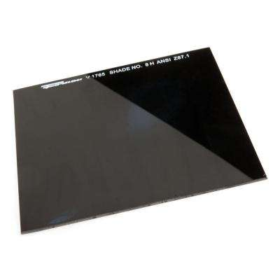 4-1/4 in. x 2 in. #8 Shade Hardened Glass Replacement Lens