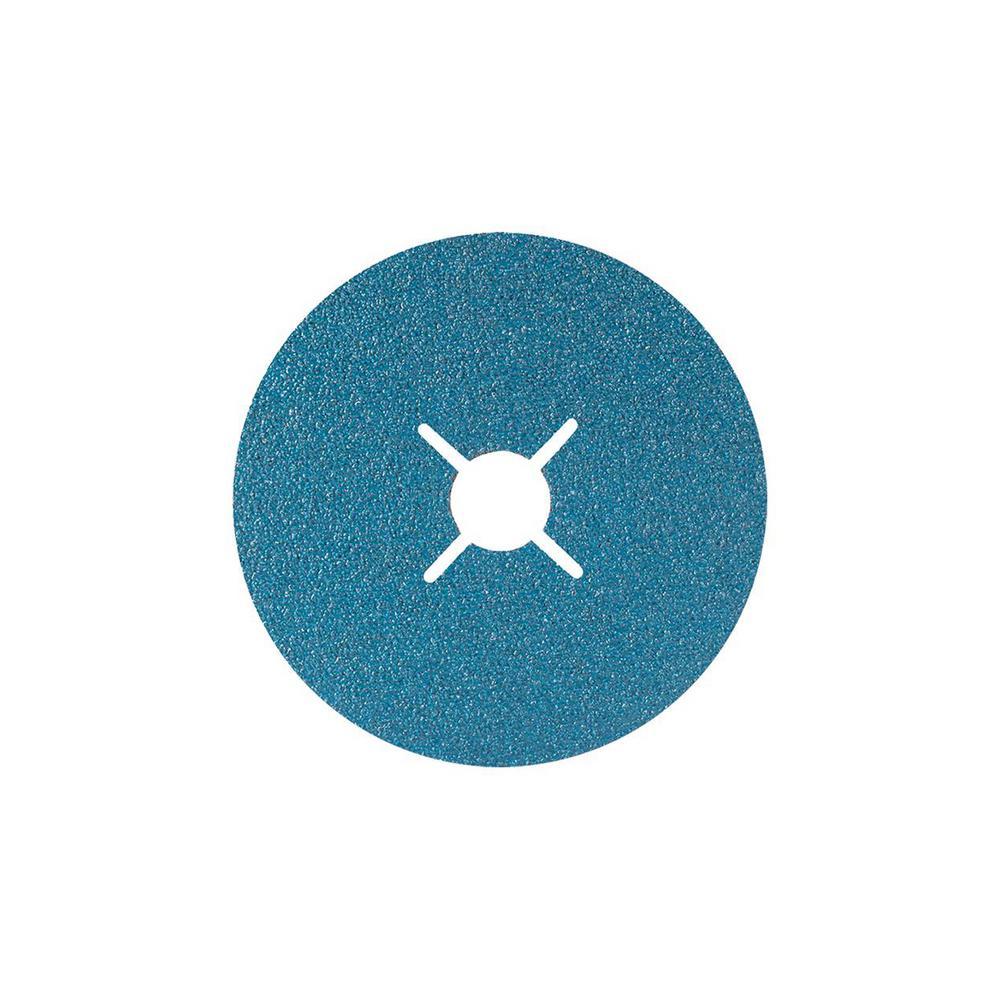 TOPCUT 5 in. x 7/8 in. Arbor GR80 Sanding Discs (25-Pack)