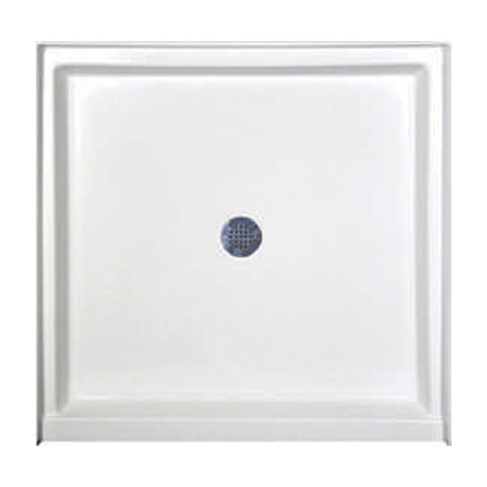 Hydro Systems 36 in. x 36 in. Single Threshold Shower Base in White