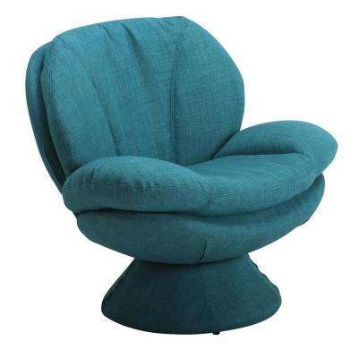 Port Turquoise Fabric Leisure Accent Chair