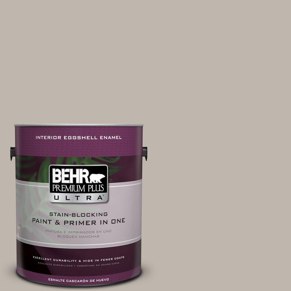BEHR Premium Plus Ultra Home Decorators Collection 1-gal. #HDC-CT-21 Grey Mist Eggshell Enamel Interior Paint