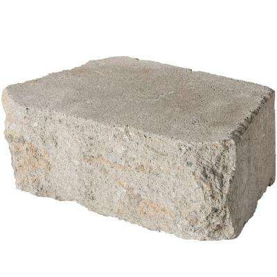4 in. x 11.75 in. x 6.75 in. Fieldstone Concrete Retaining Wall Block (144 Pcs. / 46.5 Face ft. / Pallet)