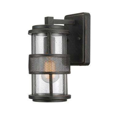 Bronson 1-Light Dark Bronze Outdoor Wall Mount Sconce