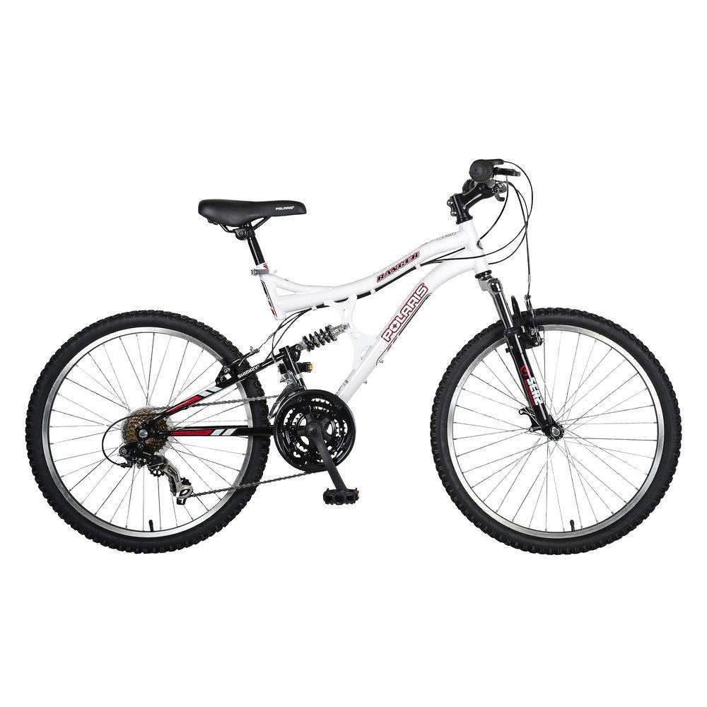 Polaris Ranger Full Suspension Mountain Bike, 24 in. Wheels, 17 in ...