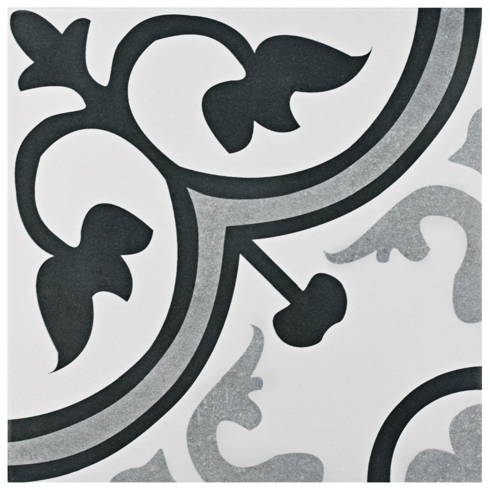 Merola Tile Amberes Classic Encaustic 12-3/8 in. x 12-3/8 in. Ceramic Floor and Wall Tile (10.96 sq. ft. / case)