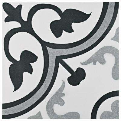 Amberes Encaustic 12-3/8 in. x 12-3/8 in. Ceramic Floor and Wall Tile (11.07 sq. ft. / case)