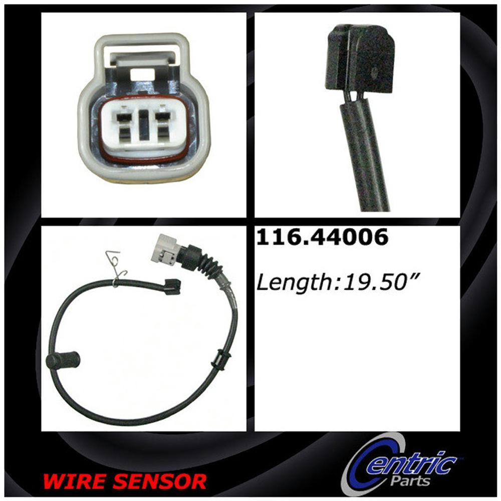 Disc Brake Pad Wear Sensor - Rear