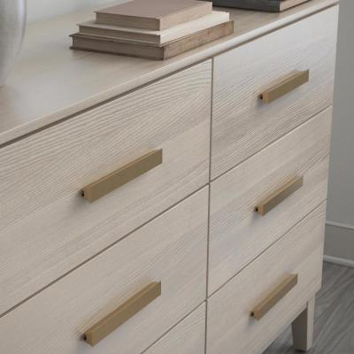Inclination 2 in. to 8-13/16 in. (51 mm to 224 mm) Champagne Bronze Adjustable Drawer Pull