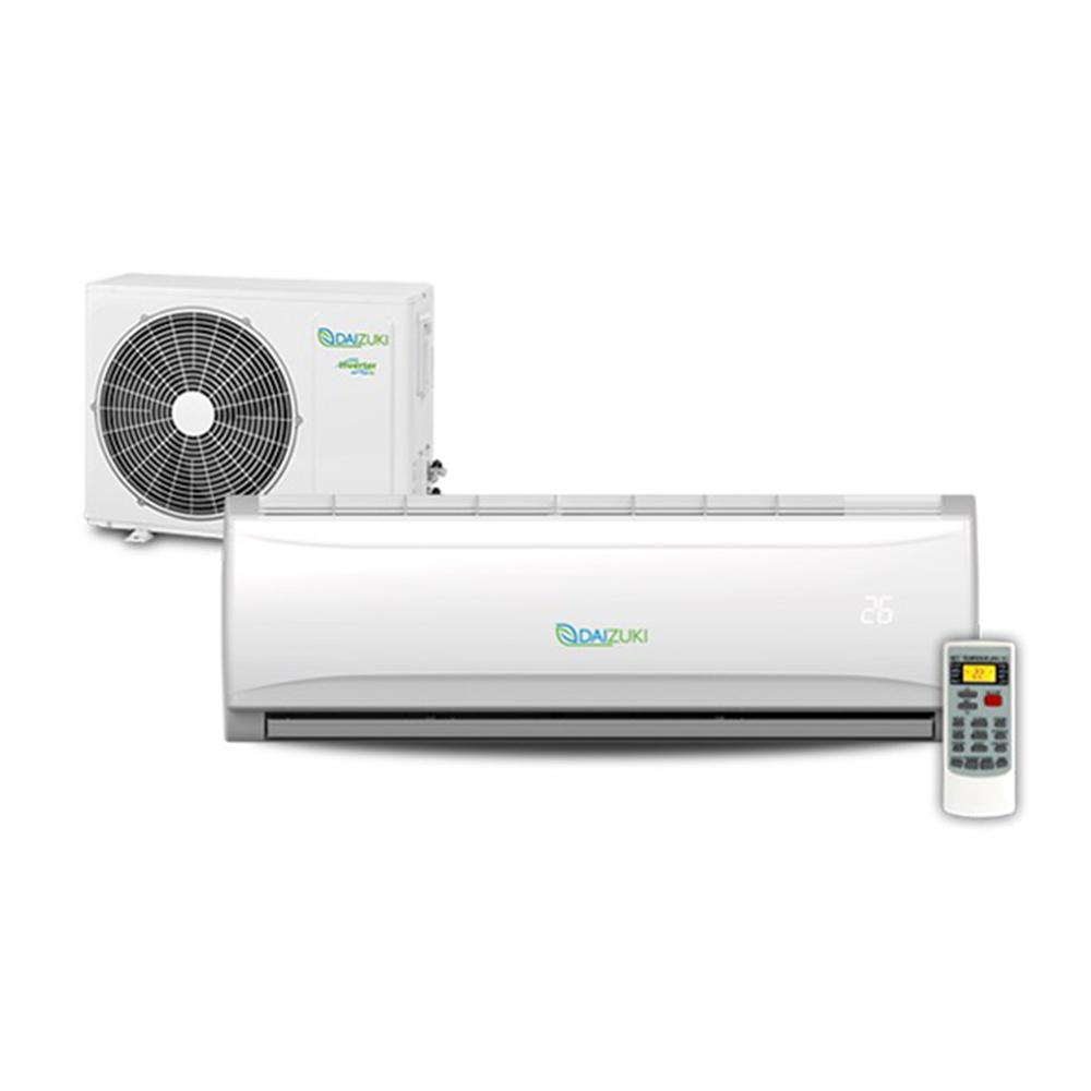 Daizuki 12,000 BTU 1.0 Ton Ductless Mini Split Air Conditioner and Heat Pump - 208-Volt- 230-Volt/60Hz