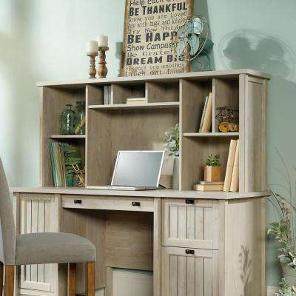 Costa Chalked Chestnut Desk Hutch