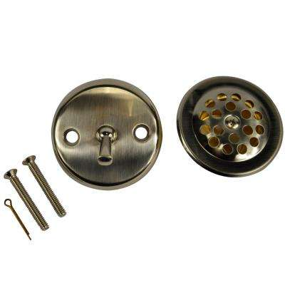 Trip Lever Tub Drain Kit in Brushed Nickel