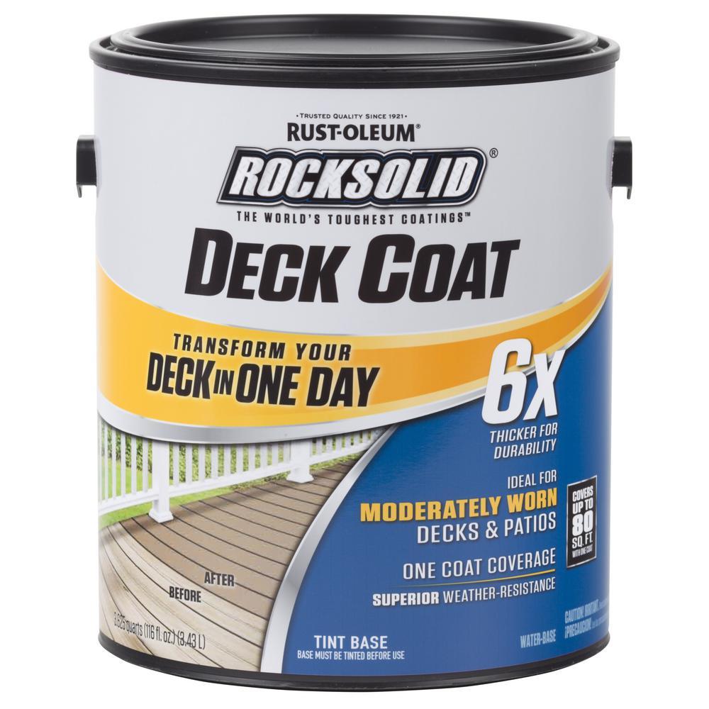 White Exterior 6x Deck Coat