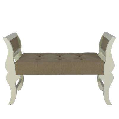 Savannah White Bench