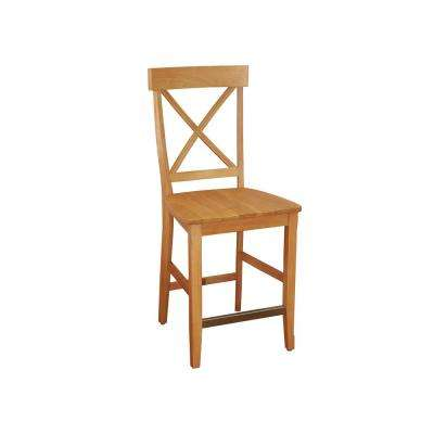 Nantucket 24 in. Maple Bar Stool