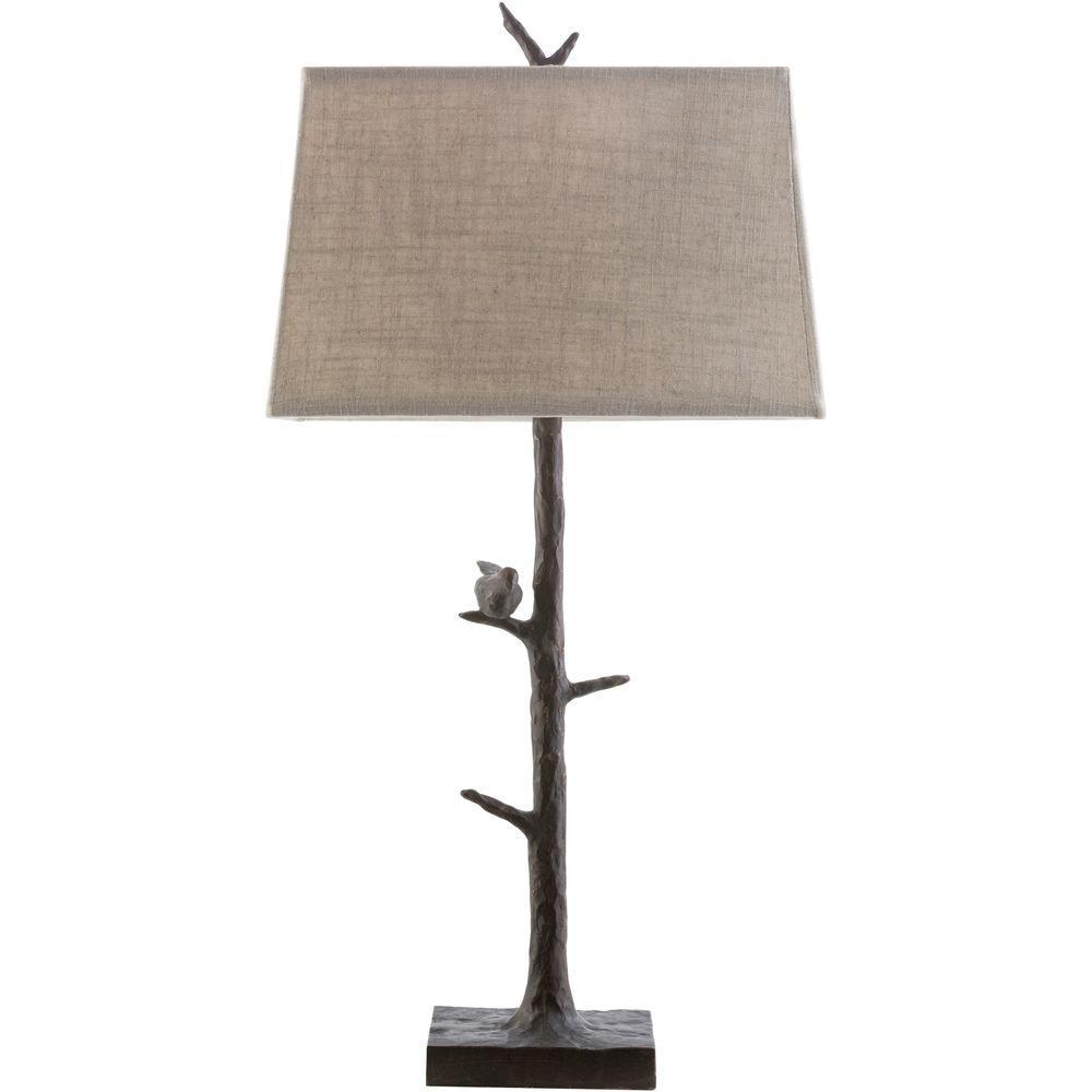 Vitullo 32 in. Bronze Indoor Table Lamp